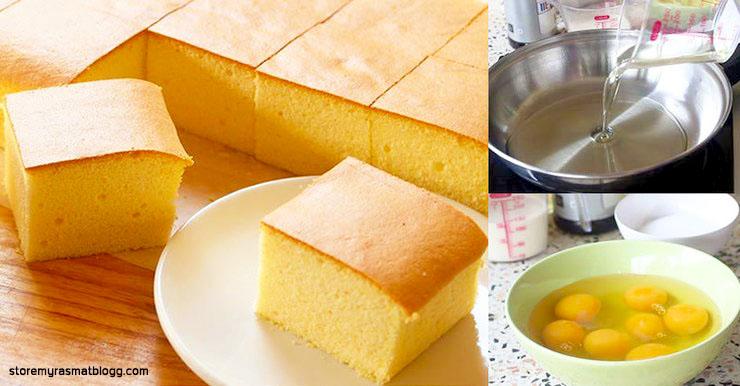 เค้กไข่ไต้หวัน ง่ายๆสำรับมือใหม่