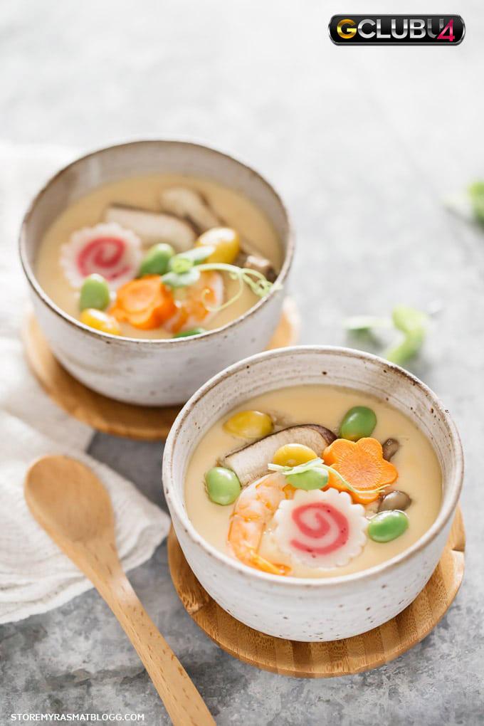 ชวันมูชิ คัสตาร์ดไข่ สไตล์ญี่ปุ่น