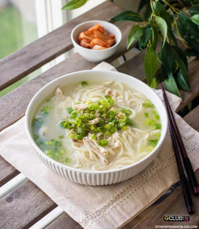 ซุปไก่เกาหลี